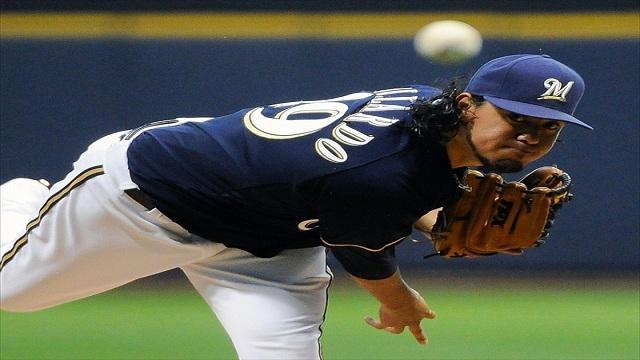 Milwaukee Brewers Pitcher Yovani Gallardo