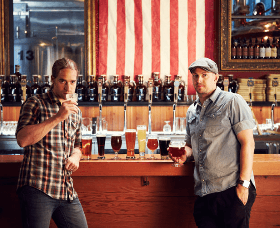 James Watt and Martin Dickie in Brew Dogs on Esquire Network