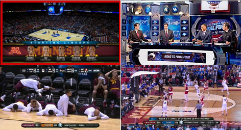Watch 4 NCAA Tournaments Games with Hopper 3